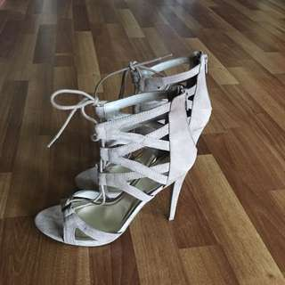 Swede Lace Up Shoes