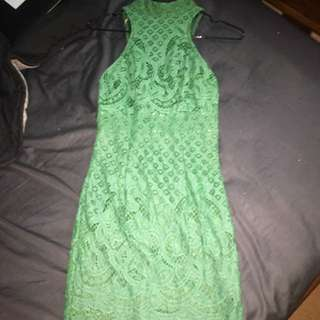 Morning Mist Lace Dress Xs 6