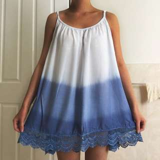 AllAboutEve Dip-dye Beach Dress