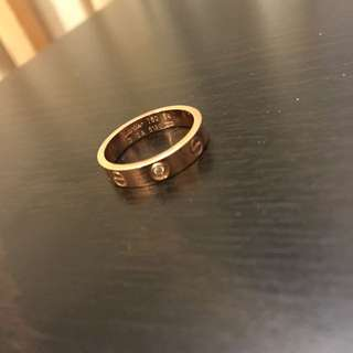Cartier Diamond Ring