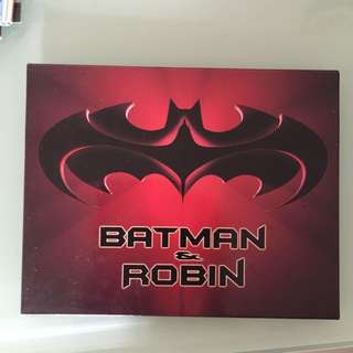 1997 年BATMAN 蝙蝠俠電影postcard