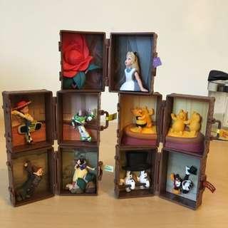 迪士尼 旅行箱 絕版