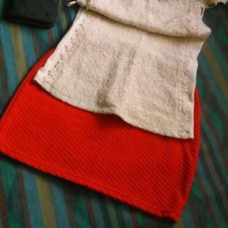 😍😍😍Red Skirts