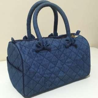 Denim Hand Bag Naraya