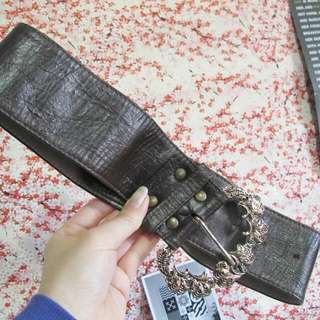 Sz 4 Custom Waist Leather Belt