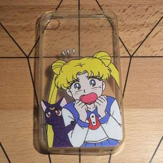 Sailor Moon Anime Cosplay iPhone 4/4s Silicone Case Cover