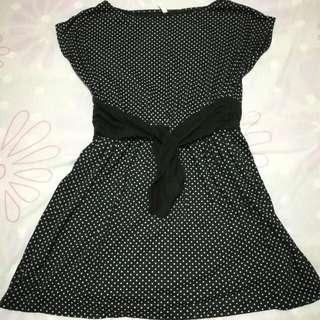 Dainty Polka Dots Dress