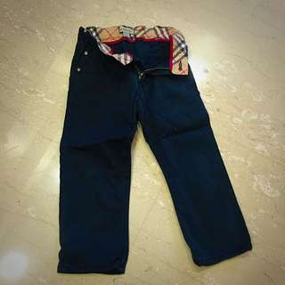(reserved) Burberry Blue Jeans For 2 Year Olds