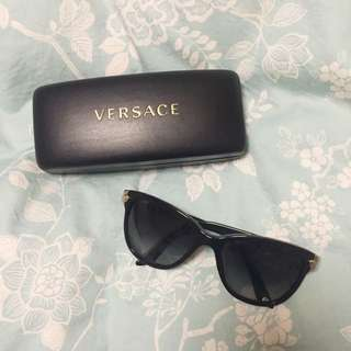 Versace Cat Eyed Sunglasses