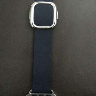 Brand new leather 38MM Midnight Blue Size L