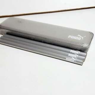 Puma鉛筆(3入)+鐵盒
