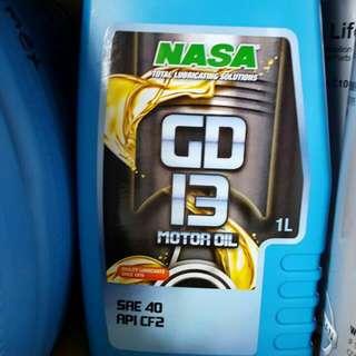 Nasa Motor Oil, Radiator Coolant, Brake Fluid Auto Transmission Fluid