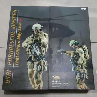 1/6 toys City Military Figure USAF Para rescue Jumper,That Others May Live