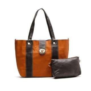 Tan Shoulder / Sling Bag