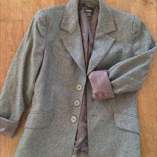 Mexx Grey Blazer Size 4