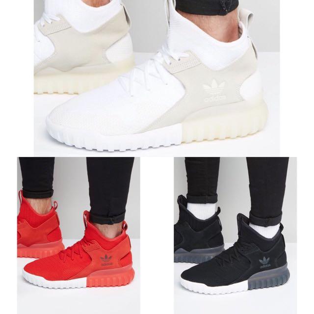 正品 Adidas Originals Tubular X Primeknit