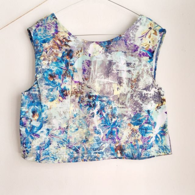 Abstract Top by Jessica Mila