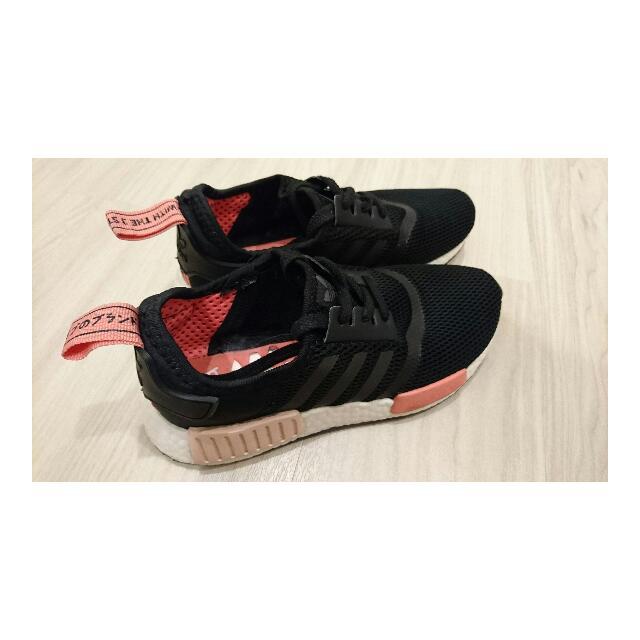 (待寄出)adidas NMD 黑粉