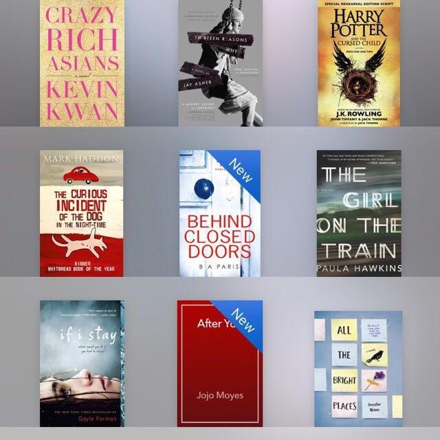 Assorted Ebooks