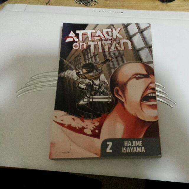 Attack On Titan Vol 2 Manga