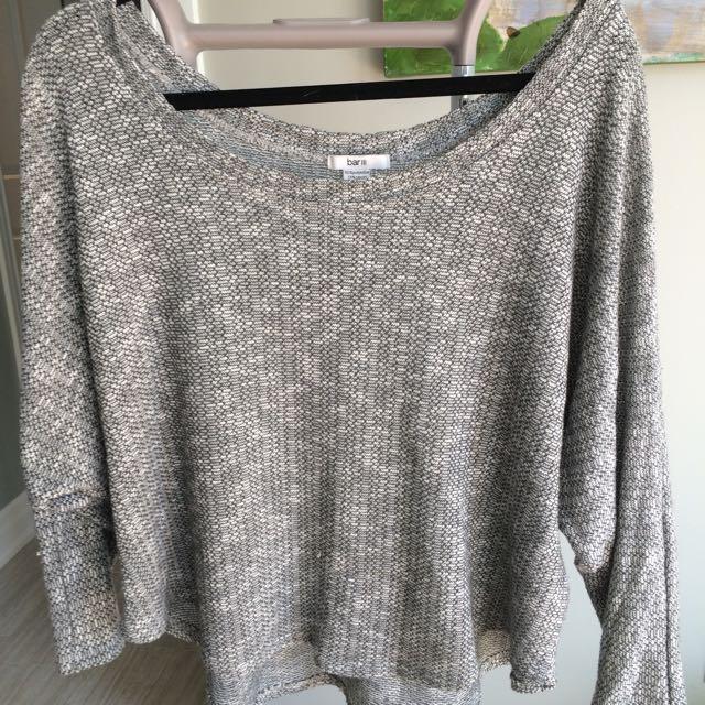 Bar II Off The Shoulder Sweater