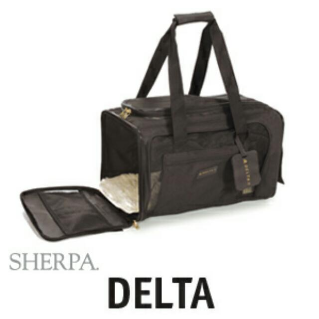 Brand New Sherpa Bag Medium Certified By Delta.