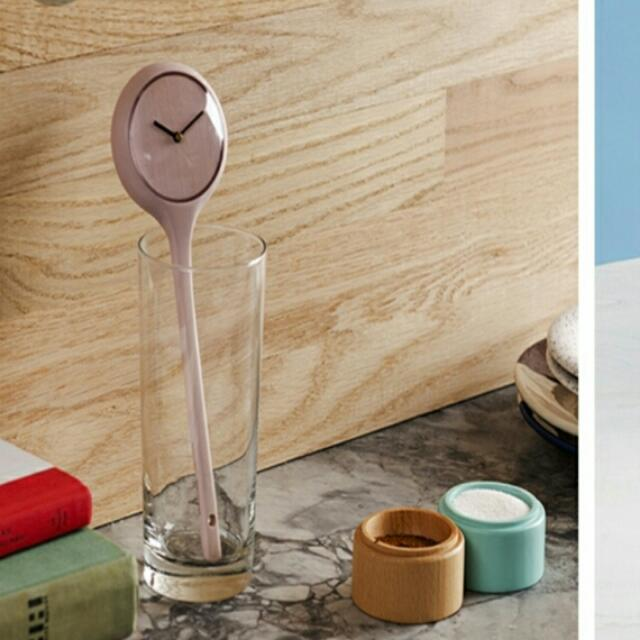 Brand NEW Spoon Clock