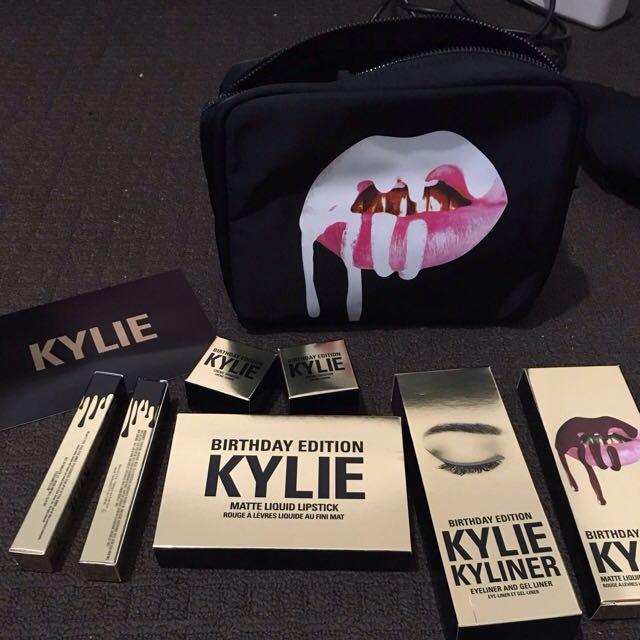 Bundle birthday edition - Kylie cosmetics