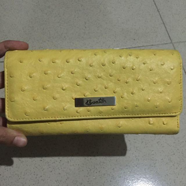 Buxton Mustard Wallet