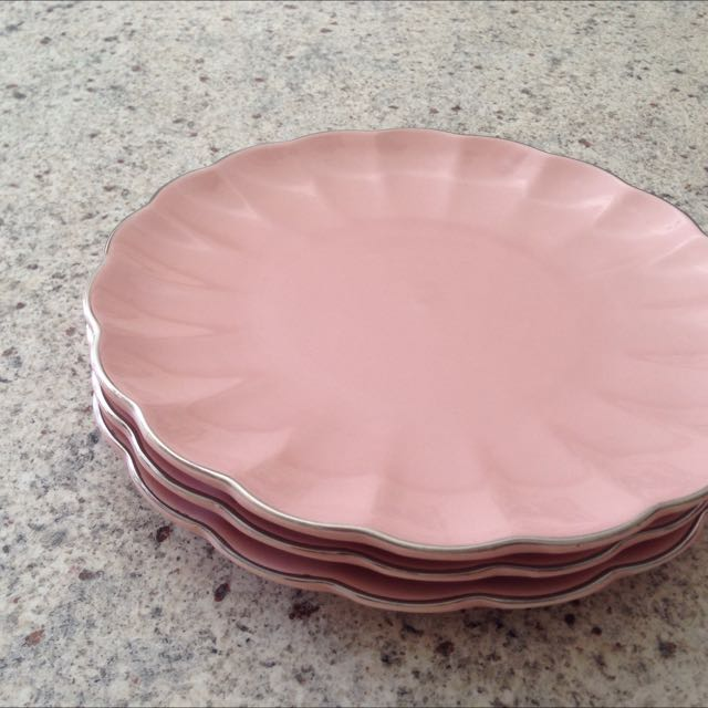 Cake Plates X 3