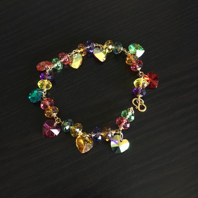 Colourful Crystal Bracelet