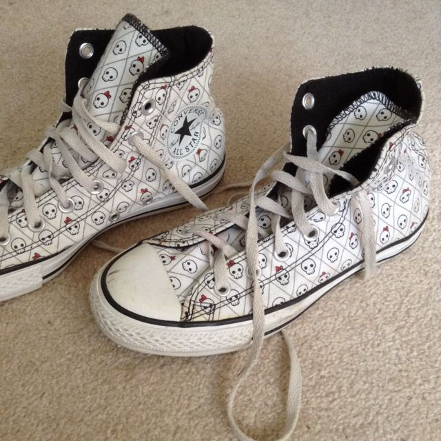 Converse All Star: Skull High Tops