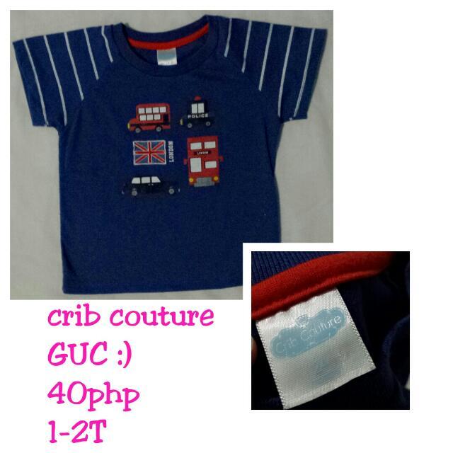 Crib Couture Tshirt1-2T
