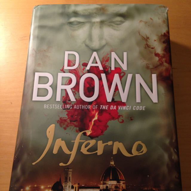 Dan Brown Inferno Paperback Novel Like New