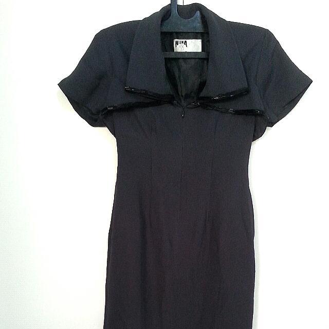 Black Dress - Nuna Indonesian Designer