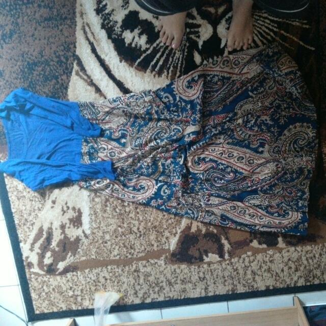 Dress Panjang + Belt
