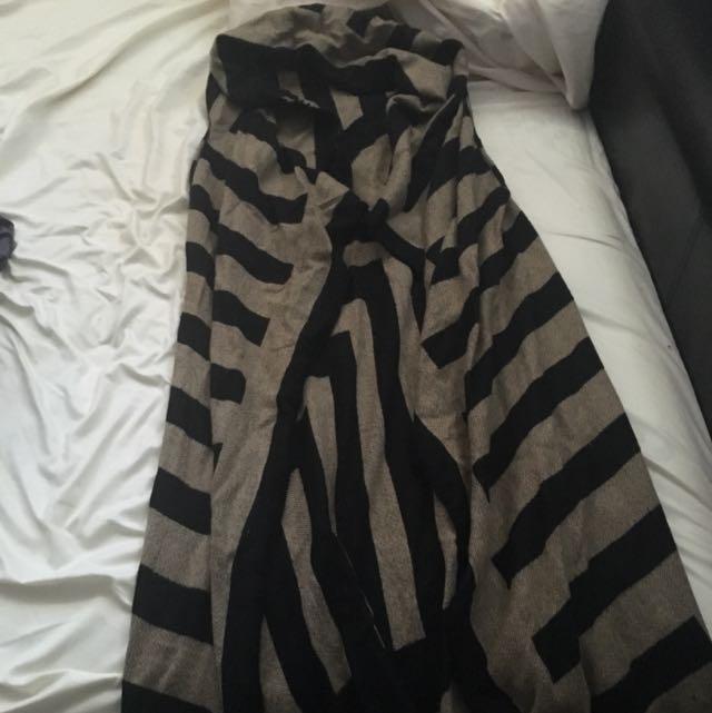 Dynamite Maxi Sweater Vest