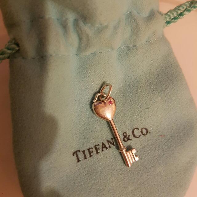 Genuine Tiffany and Co Key Pendant