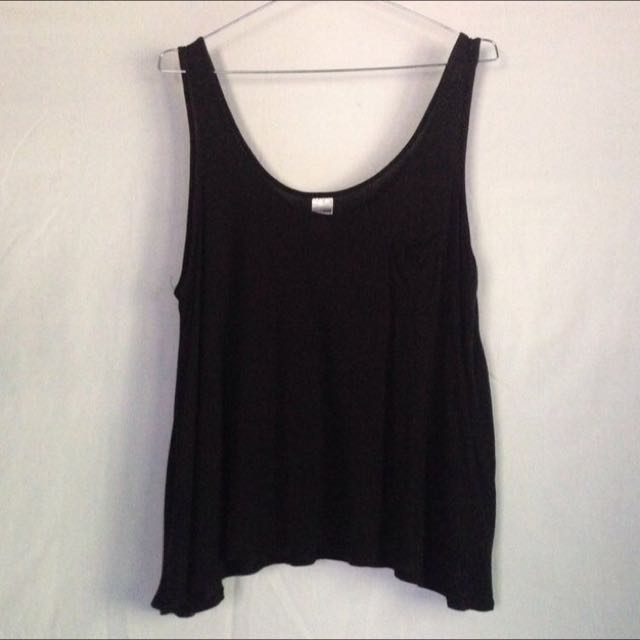 GirlXpress Size 16 Black Singlet
