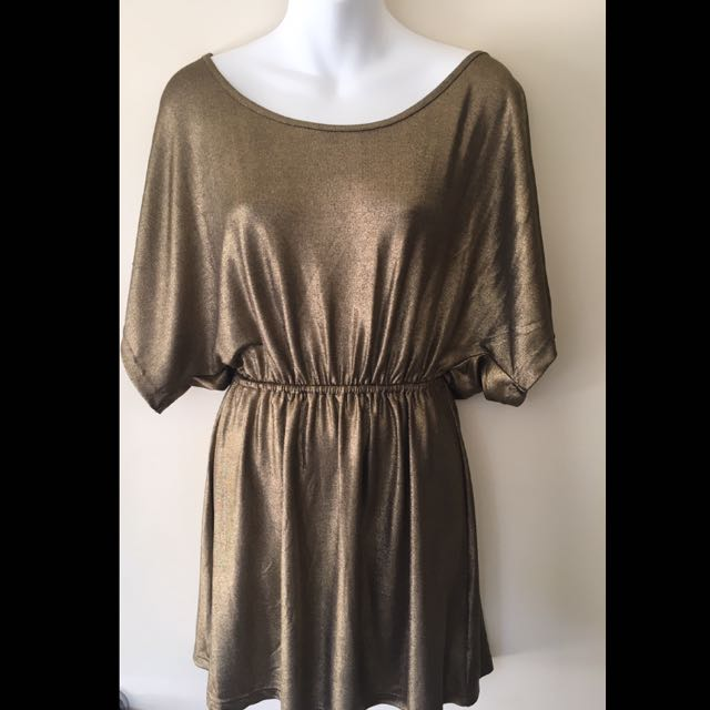 Gold Top By Paint It Red BNWT
