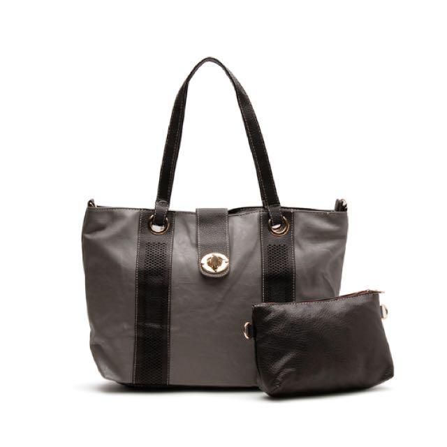 Gray Shoulder/ Sling Bag