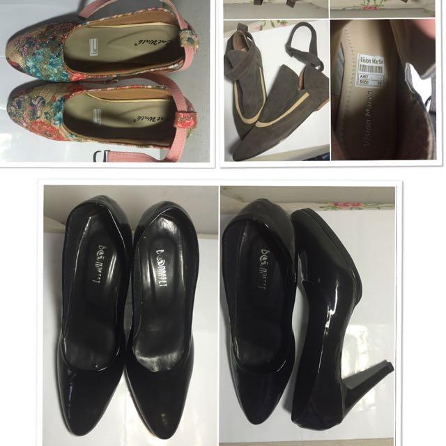Heels, Boots, Pump Shoes