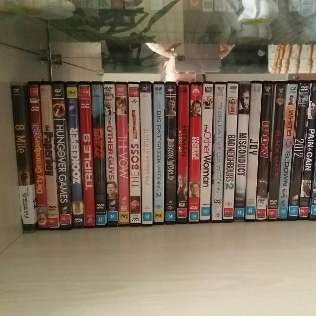 I Am Selling New Release DVDs And Some Other DVDs