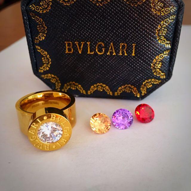 Imitation Bvlgari Ring New