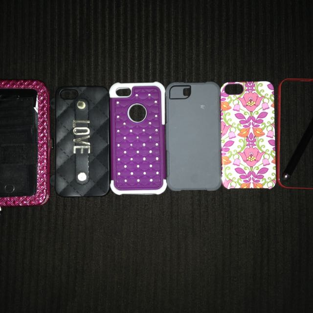 Iphone 5 Cases + Stylist+ Wristlet