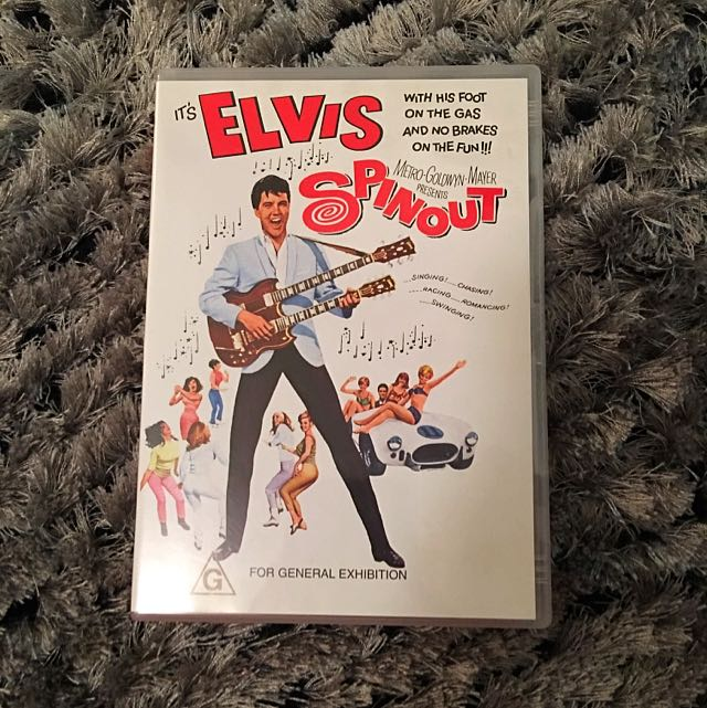 It's Elvis Spinout