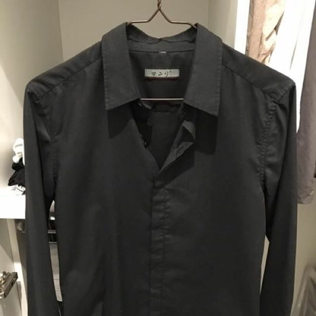 Japanese Black Shirt