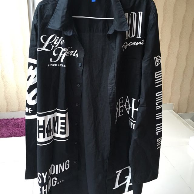 Jual Preloved Long Length Shirt H&M