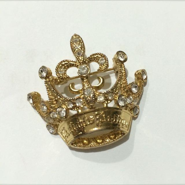 Knights Bridge👑立體皇冠水鑽別針/墜子 KB學院風服飾品牌 非滿額贈 賣場另有KB型錄撲克牌