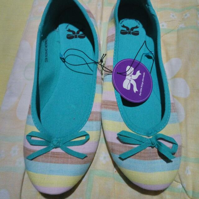 Little Things Flat Shoes Lollipop Tosca Uk 39 Brand New